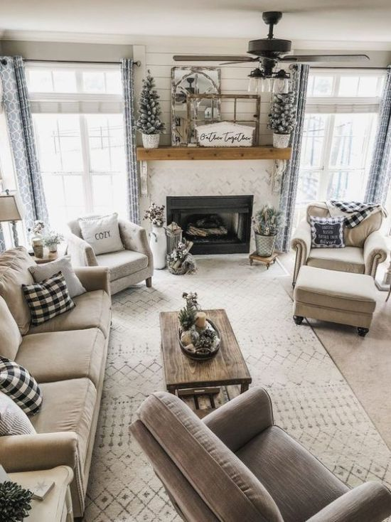 How To Expand Living Room With Rug With Matching Color