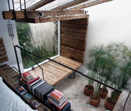 Indoor Courtyard Design Idea With Greenery And Moss