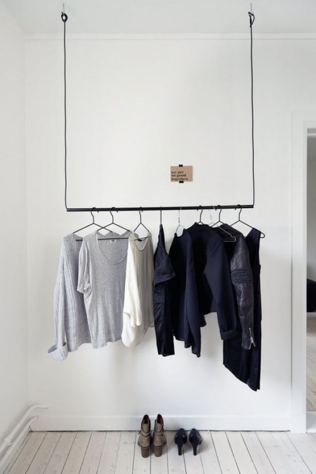 Masculine Minimalist Closet Design Ideas