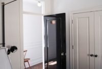 Glossy Black Door Ideas