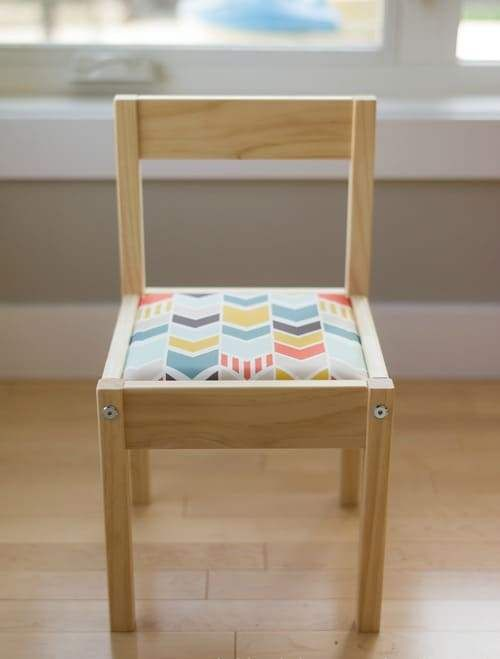IKEA Latt Chair With A Soft Seat