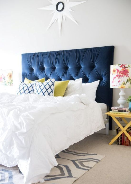 IKEA Malm Headboard Upholstered And Tufted