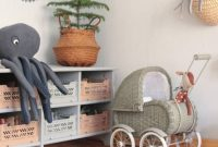 Nursery Decor With Octopi And Toys