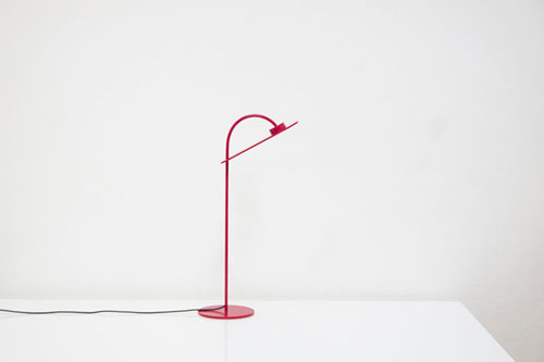 Flamingo Lamp by Mario Alessiani