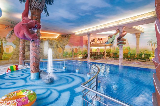Indoor Swimming Pool with Slide for Kids