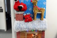 office funny Christmas door decorating contest ideas by Hanson
